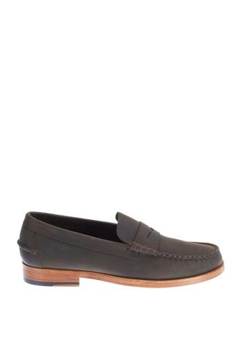 Sebago brown Legacy Penny Dress Casual Shoes SE328SH0IW4EPH_1