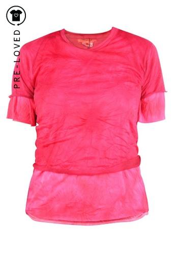 Comme Des Garçons red Pre-Loved comme des garçons Red T.Shirt FFE88AA4C85E07GS_1