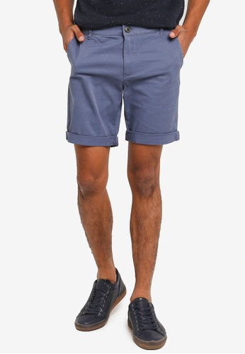 Selected Homme grey Straight-Paris Shorts 75C02AAF58B535GS_1