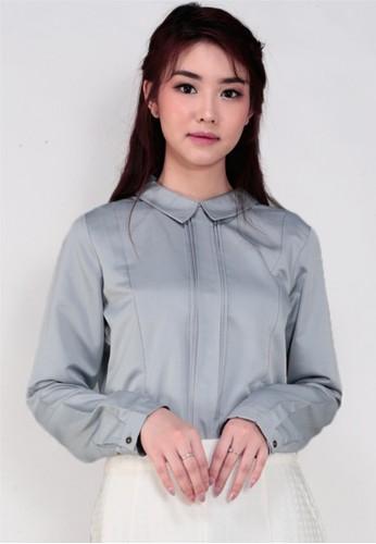 GatsuOne grey Yakara Shirt 07140AA24C8007GS_1