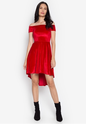 Rated E Fashion red Naiara Dress RA951AA0KNLXPH_1