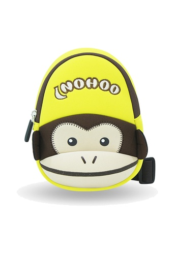 Nohoo yellow Nohoo Kids Sling Bag Ape (Yellow) F4019KC42CF12AGS_1