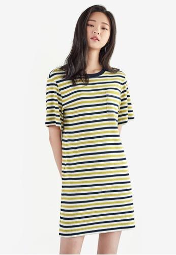 NAIN multi Striped Jersey Dress AECA3AA7651383GS_1