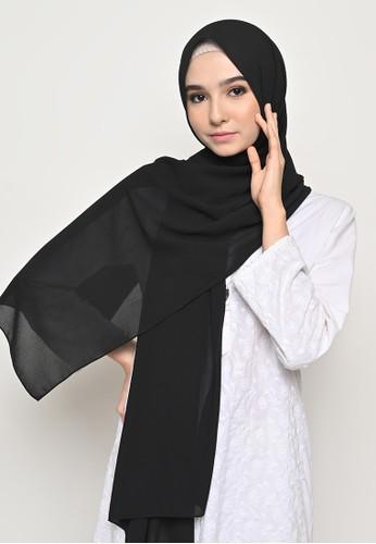 My Daily Hijab black Pasmina  Cerutti Baby Doll Jahit Tepi Black A7A4DAAB3BBBC5GS_1