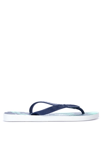 Ipanema white and blue Clas Urbana Masc Sandals & Flip Flops 10A24SH26AF2D1GS_1