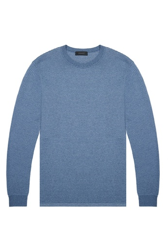 D'urban blue Knitted Jumper AD856AA31B98F2GS_1