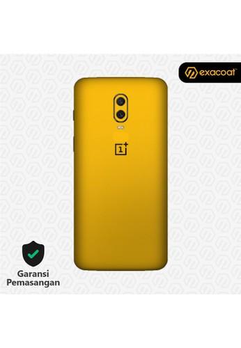 Exacoat OnePlus 6T 3M Skins True Colors - Lemon Yellow 67318ES5E0405CGS_1