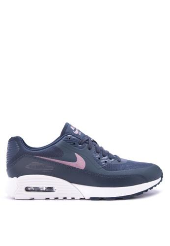 Nike navy Women's Nike Air Max 90 Ultra 2.0 Shoes NI126SH0S8OFMY_1