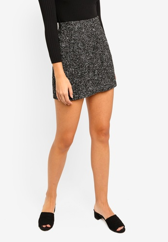 ZALORA multi Tweed Mini Skirt 09155AAE5753E1GS_1