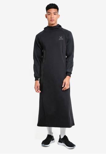 SYNDEED 黑色 Jubah Assassin 服飾 23978AAD3BA0F0GS_1