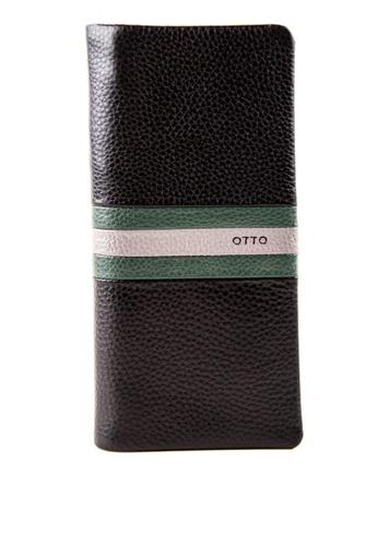 Otto black Long Bifold Wallet 4575CAC5E0B85BGS_1