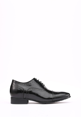 Kings Collection black Santoni Brogues (3 inches heel) 211E2SH25D2F0EGS_1