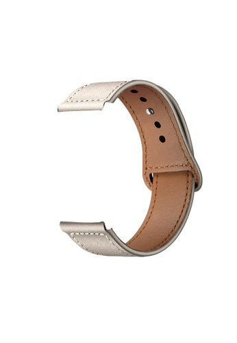 Kings Collection Creamy White Genuine Leather Apple Watch Band 38MM / 40MM (KCWATCH1019) EB3D1ACA0AC628GS_1