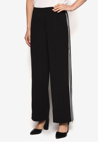 Collection 撞色條紋邊飾長褲、 服飾、 長褲及內搭褲ZALORACollection撞色條紋邊飾長褲最新折價