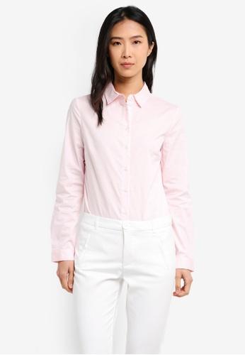 Mango pink Cotton Shirt MA193AA0T1KKMY_1