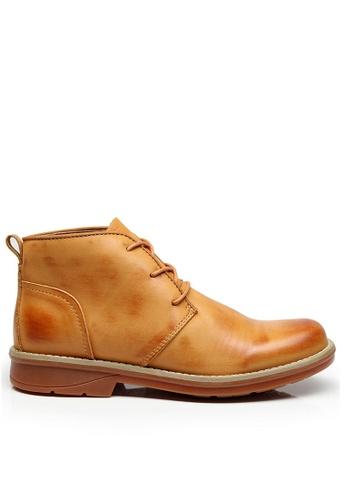 Twenty Eight Shoes Vintage Leather Boots M8008-1 F5CBDSHA0498BCGS_1