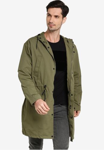 Calvin Klein green Unlined Parka - Calvin Klein Jeans 47E06AA0980521GS_1