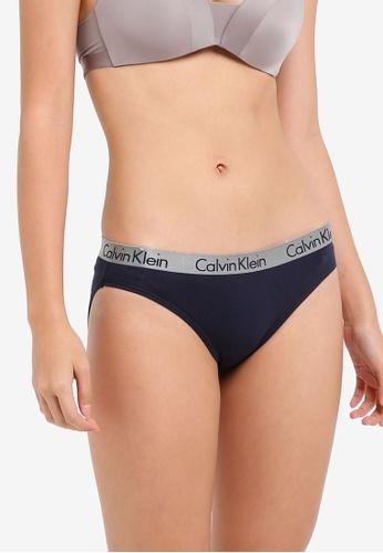 Calvin Klein grey Radiant Cotton Bikini Panties - Calvin Klein Underwear 0B646US5F8FAEDGS_1
