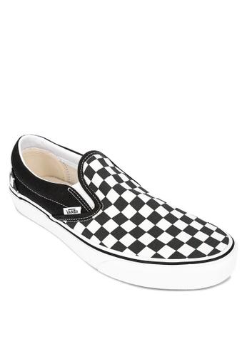 slip on vans checkerboard