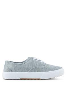 Rubi grey Ellis Plimsoll Sneakers RU506SH0SL4XMY_1