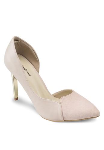 側鏤空尖頭高跟鞋esprit 澳門, 女鞋, 鞋