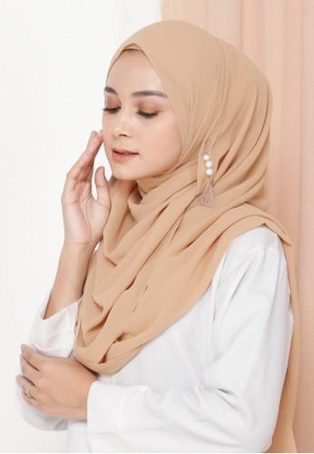 Jual Ellysa Ellysa Romansa Luxury Barbie Pashmina Mocca Original Zalora Indonesia