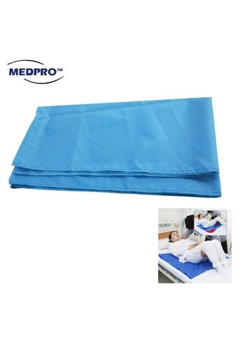 MEDPRO MEDPRO™ Tubular Slide Sheet Easy Transfer Patient Bed Slide Sheet Waterproof in Teal Blue E4833ES5E91679GS_1
