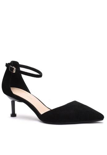 Twenty Eight Shoes 黑色 繞踝帶幼踭鞋196-1 2415CSH27BA9D0GS_1