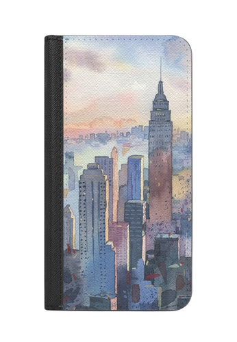 Casetify black and white New York - Wallet Case with RIFD for iPhone XS/ iPhone X DE0B9AC9C9E1DEGS_1