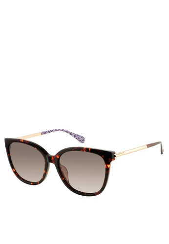 Kate Spade gold Britton/G/S Sunglasses D58F3GLC2B1AAAGS_1