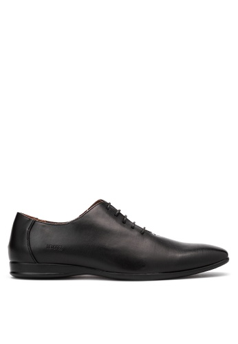 Mendrez black Men's Formal Shoes ME992SH03OZGPH_1