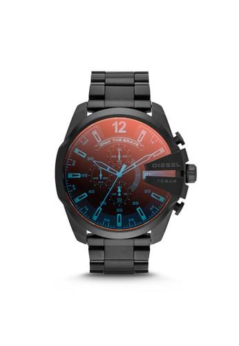 Mega Chi京站 espritef炫彩計時腕錶 DZ4318, 錶類, 時尚型