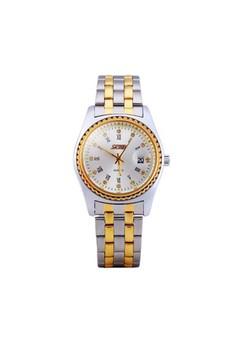 SKMEI 30 Meters Waterproof Stainless Steel Analog Wrist Watch