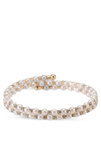 ALDO white Abergele Bracelet 731F6AC8AD6E53GS_1
