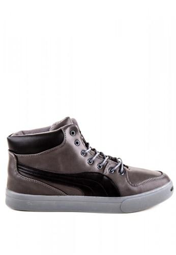 Otto grey High Cut Shoes 7373ESH345ABE7GS_1