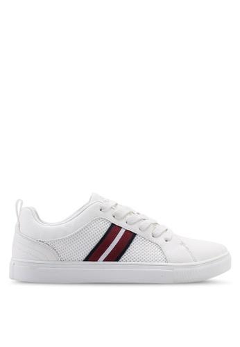 Burton Menswear London white White Trainers 1B168SH9C1AEBAGS_1