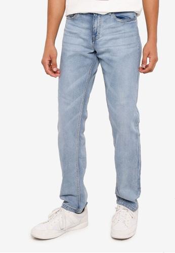 Springfield blue Regular Fit Jeans 85D60AA4902736GS_1