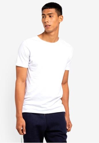 Brave Soul 白色 圓領T恤 85F5EAA17C6BD3GS_1