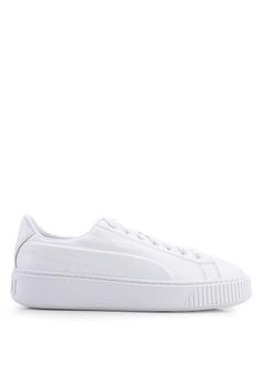 reputable site e342c 654b6 PUMA white Sportstyle Prime Platform Seamless Women s Shoes  2B00FSHDF4AFB4GS 1