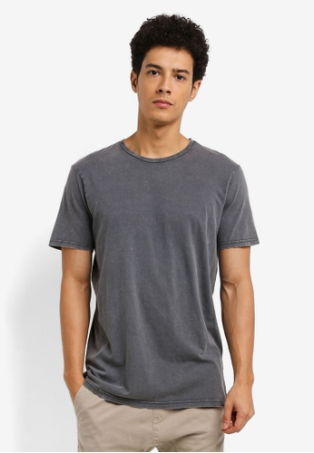 561d74812ab80 Cotton On black TBar Premium Crew Tee 1363FAA7661055GS 1. CLICK TO ZOOM