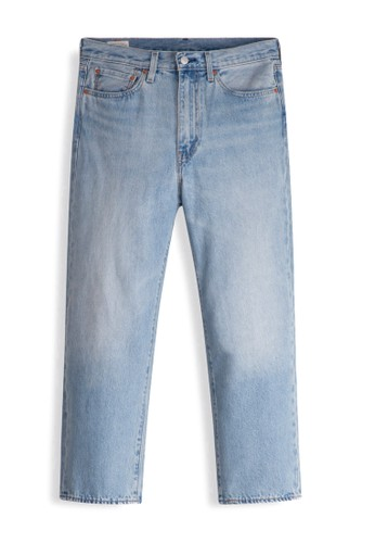 Levi's blue Levi's Stay Loose Denim Crop Forever And Ever (28997-0001) E22ABAA5FE28F3GS_1