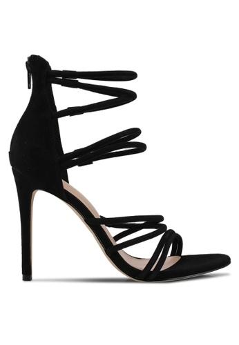ALDO black Onianiel Strappy Heels 136E2SHA50202CGS_1