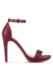 ZALORA red Ankle Strap Heels C46D9SH40675BAGS_1