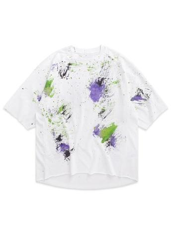 Twenty Eight Shoes Handmade Splash Ink Oversize T-shirt 1130S20 05B27AAF236862GS_1