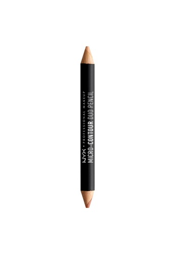NYX Professional Makeup multi NYX Professional Makeup Micro-Contour Duo Pencil - MEDIUM CDA4ABE20867CEGS_1