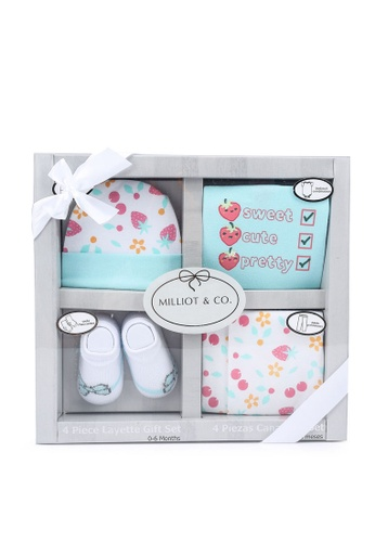 Milliot & Co. pink Aria Girls Gift Set 3573BKCAA3CD30GS_1
