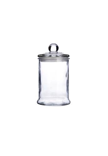 Propstation Heritage Airtight Borosilicate Clear Glass Jar with Lid - 750ml EDF9AHL84AF99CGS_1