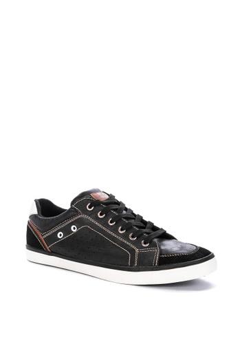 H2Ocean black Cenobio Lace up Sneakers 0BB63SHD16E7AEGS_1