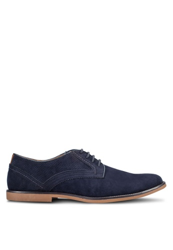 Burton Menswear London navy Navy Low Top Desert Shoes BU964SH48OCPMY_1
