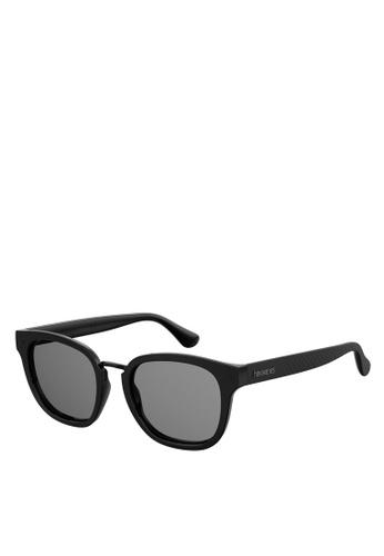 Havaianas black Guaeca Sunglasses 78E51GL7D08932GS_1